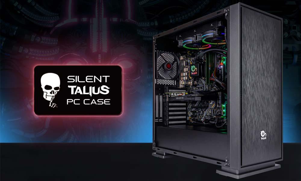 Caja Gaming Neuron con Silent PC Case