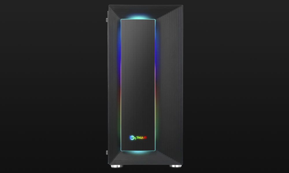 Frontal de la caja gaming Auriga