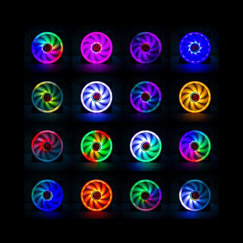 Colores de ventiladores caja gaming Cronos