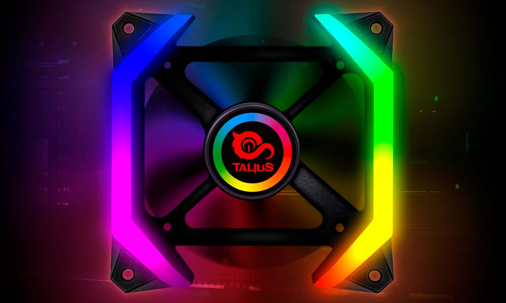 Ventilador gaming RGB
