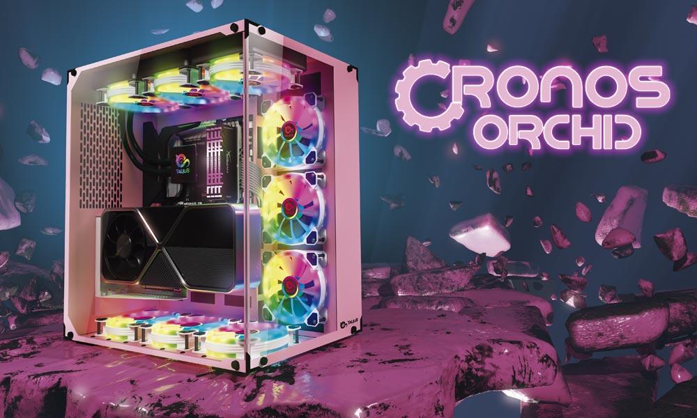 Caja gaming Cronos Orchid | Talius