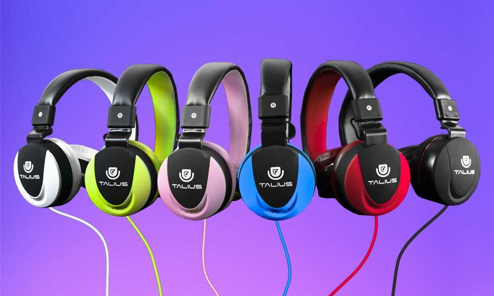 Auriculares HPH-5005 en diferentes colores