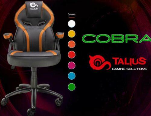 ¿Buscas silla gaming de menos de 100 €? La Cobra es perfecta